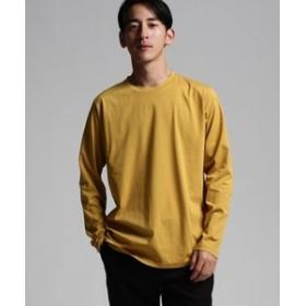 【tk. TAKEO KIKUCHI:トップス】◆【JAPAN MADE】製品染めロングスリーブTシャツ