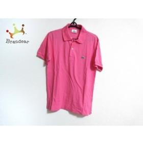 ラコステ Lacoste 半袖ポロシャツ サイズ2 M メンズ ピンク 新着 20190906