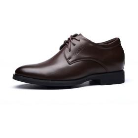 (メンズ ファッション)Men's Fashion 春 メンズ ビジネスシューズ 革靴 本革 メンズ靴 紳士靴 シューズ 秋冬 リクルート 就職活動 人気 通学 ブラウン 27CM