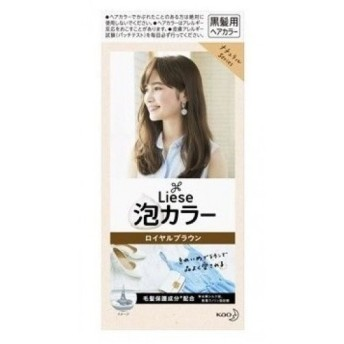 【医薬部外品】リーゼ プリティア 泡カラー ロイヤルブラウン