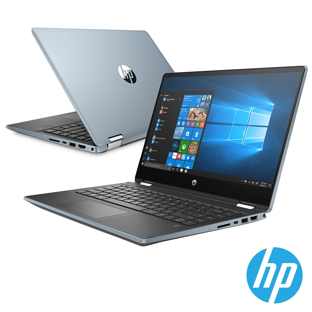 HP Pavilion x360 14-dh0003TX (i5-8265U/8G/512G SSD/MX130 2GB/Win10)