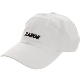 【Super Sports XEBIO & mall店:帽子】STANDARD LOGO 6PANEL キャップ 01193005-WHITE