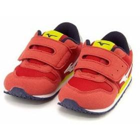 ミズノ スニーカー 女の子 男の子 キッズ ベビー 子供靴 タイニー ランナー 5 TINY RUNNER 5 mizuno K1GD1732 アメリカンチェリー