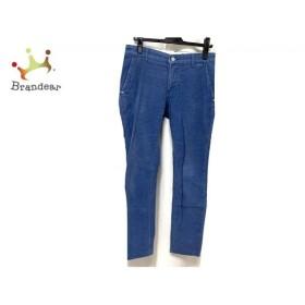 アントレアミ ENTRE AMIS パンツ メンズ ブルー ベロア 新着 20190906