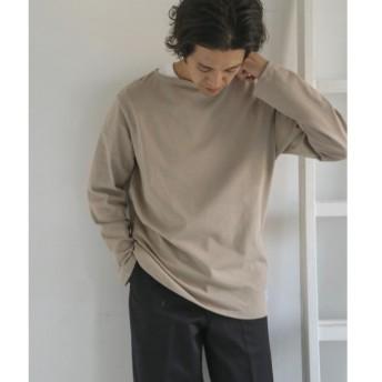 URBAN RESEARCH DOORS / アーバンリサーチ ドアーズ ORCIVAL COTTON LOURD フレンチバスクシャツ