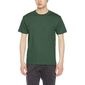 [クロスアンドステッチ] Tシャツ OE1116 メンズ フォレストグリーン 日本 M-(日本サイズM相当)
