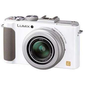 パナソニック デジタルカメラ ルミックス LX7 光学3.8倍 ホワイト DMC-LX7-(中古品)