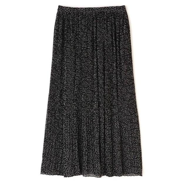 HUMAN WOMAN ヒューマンウーマン / 《arrive paris》消しプリーツスカート