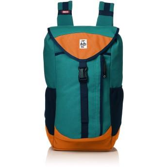 [チャムス] リュック Book Pack Sweat Nylon Teal/Orange