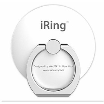 AAUXX(オークス) スマホ リング パールホワイト 4×3.6×6cm iRing Circle 【正規輸入品】 UMS-IR07IMCPW