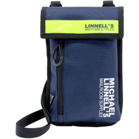 (マイケルリンネル) MICHAEL LINNELL ポシェット ポーチ ショルダーバッグ 1L [ML-028] ネイビーイエロー