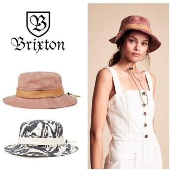 ブリクストン ハット レディース VANESSA BUCKET HAT 帽子 BRIXTON 黒 ピンク [0601]