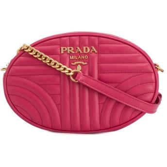 Prada ダイアグラム ショルダーバッグ - ピンク