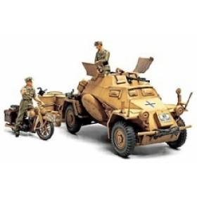 """タミヤ ドイツテイサツシャアフリカ 1/35 ドイツ4輪装甲偵察車 Sd.Kfz.222 """"北アフリカ戦線"""""""