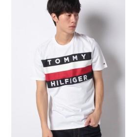 【30%OFF】 トミーヒルフィガー ビッグ フラッグ Tシャツ / UPSTATE FLAG TEE ユニセックス ホワイト M 【TOMMY HILFIGER】 【セール開催中】
