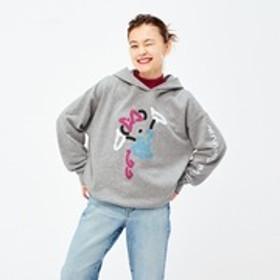 ミッキー アート スウェットプルパーカ ユーン・ヒョプ(長袖)