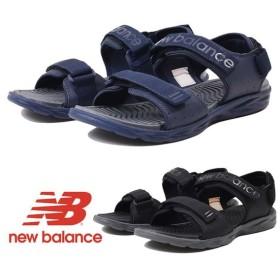 【5%還元】ニューバランス メンズ サンダル NEW BALANCE SD212 SANDAL コンフォートサンダル スポーツサンダル BK2/NV2 0510