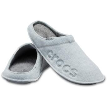【クロックス公式】 バヤ スリッパ Baya Slipper ユニセックス、メンズ、レディース、男女兼用 グレー/グレー 22cm,24cm,26cm,28cm slipper