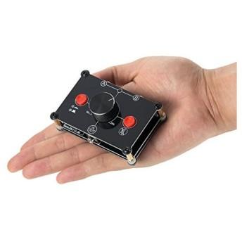 ミニ 2(1)-IN-1(2)-OUT 3.5mm ステレオ オーディオ スイッチャ パッシブセレクタスプリッタ ボックス