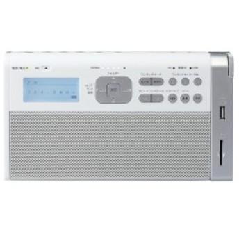 東芝 TY-RHR1 (W) ホワイト [録音ラジオ(SD/USB)]【あす着】