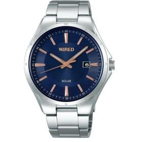 WIRED ワイアード SEIKO セイコー ニュースタンダード ソーラー 国内正規品 腕時計  メンズ AGAD401