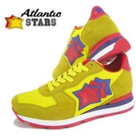 アトランティックスターズ Atlantic STARS メンズ スニーカー ANTARES SGR 19R イエロー系