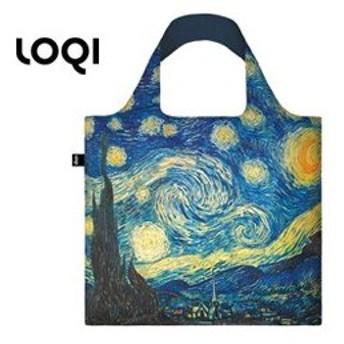 LOQI/ローキー エコバッグ Museumコレクション 【ヴィンセント・ヴァン・ゴッホ/星月夜】