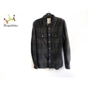 ディーゼル DIESEL 長袖シャツ サイズS メンズ 美品 グレー×黒×ブルー チェック柄 新着 20190907