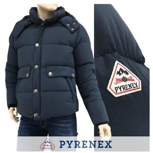 完売御礼/ピレネックス PYRENEX メンズ ダウンジャケット HMK030 REIMS JACKET/ランスジャケット/ネイビー/AMIRAL/セール