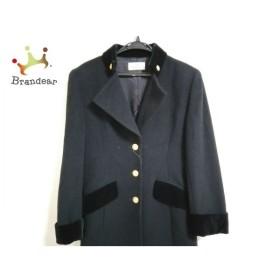 ジバンシー GIVENCHY コート サイズ11 M レディース 美品 黒 肩パッド/冬物 新着 20190907