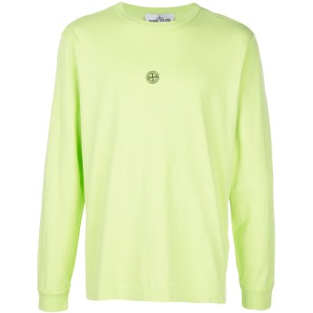 Stone Island バックロゴ Tシャツ - グリーン