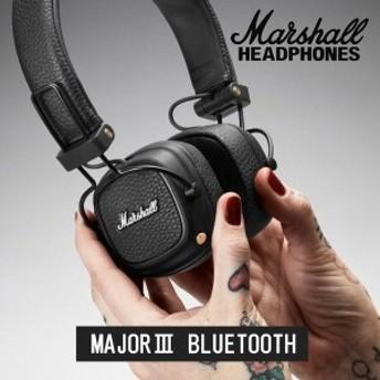 【マーシャルグッスもれなくプレゼント】Marshall マーシャル MAJOR3 Bluetooth ワイヤレス ヘッドホン Bluetooth対応 30時間連続再生【