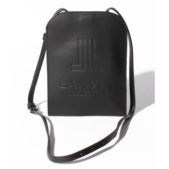 LANVIN COLLECTION ランバンコレクション 型押しショルダーバッグ 2991017