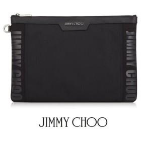 完売御礼/ジミーチュウ JIMMY CHOO メンズ クラッチバッグ DEREK JIC/BLACK/ブラック