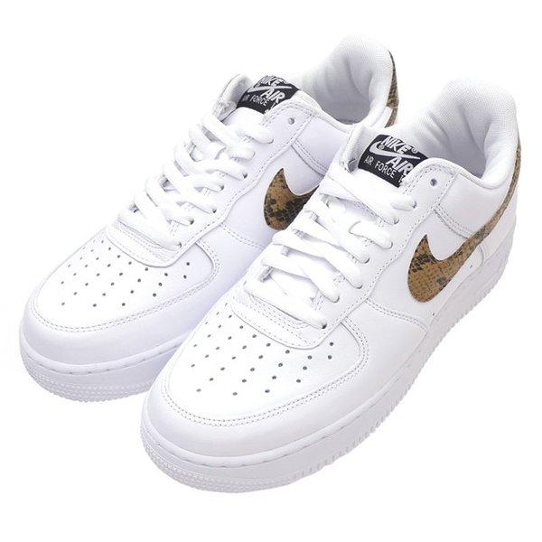 Nike NIKE AIR FORCE 1 '07 SKELETON QS air force 1 WHITE white white men BQ7541 100 291002508280