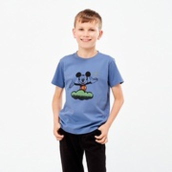 KIDS ミッキー アート UT 高木耕一郎(グラフィックTシャツ・半袖)