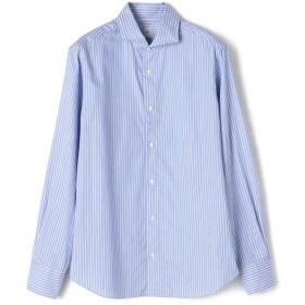 【シップス/SHIPS】 SD: ウォッシュド オクスフォード ロングストライプ シャツ