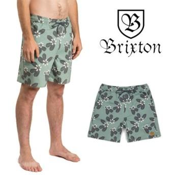 ブリクストン サーフパンツ ボードショーツ 水着 BRIXTON HAVANA TRUNK ショートパンツ ハーフパンツ 短パン [メール便]0510