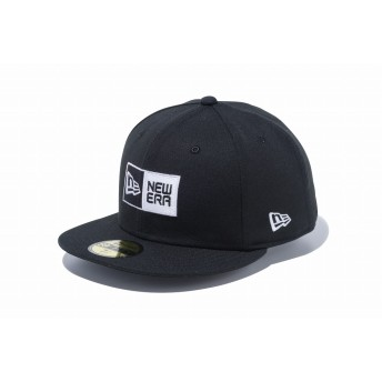 NEW ERA ニューエラ ゴルフ 59FIFTY GORE-TEX ボックスロゴ ブラック ベースボールキャップ キャップ 帽子 メンズ レディース 7 1/2 (59.6cm) 12108703 NEWERA