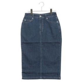 ルノンキュール アウトレット Lugnoncure outlet ジョグデニムスカート (ブルー)