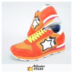 完売御礼/アトランティックスターズ Atlantic STARS メンズ スニーカー SIRIUS SCMA 85B オレンジ系/17ss