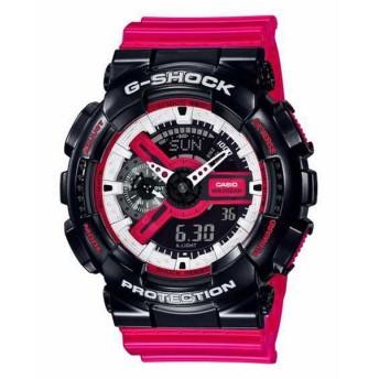 G-SHOCK ジーショック CASIO カシオ ブラック×レッド 腕時計 GA-110RB-1AJF