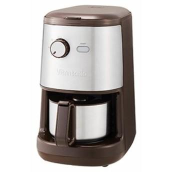 ビタントニオ 全自動コーヒーメーカー VCD-200-B ブラウン(中古品)