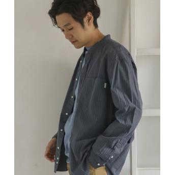 DOORS(ドアーズ) トップス シャツ・ブラウス GYMPHLEX 2COLOR バンドカラーシャツ【送料無料】