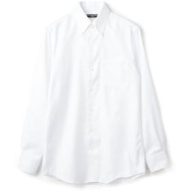【シップス/SHIPS】 SD: イージーアイロン ツイル ソリッド イタリアンボタンダウン シャツ