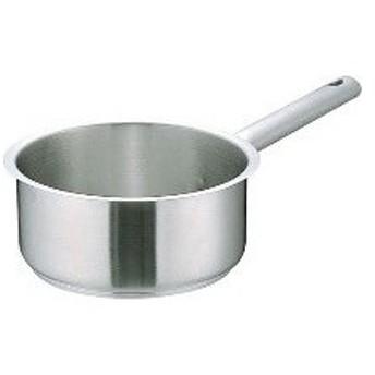 AKTD305 ムラノ インダクション18-8片手浅型鍋 (蓋無)28cm :_