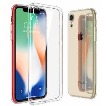 iPhone XR ケース シリコン アイフォン XR 携帯カバー クリア 柔らかい シンプル 薄型 軽量 滑り止め 変形しにくい 衝撃吸収 四隅保護