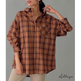 【セール開催中】ANAP(アナップ)チェックビッグシャツ