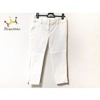 ナラカミーチェ NARACAMICIE パンツ サイズ0 XS レディース 美品 アイボリー 新着 20190907