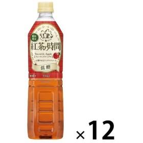 UCC 紅茶の時間 ティーウィズアップル 930ml 1箱(12本入)